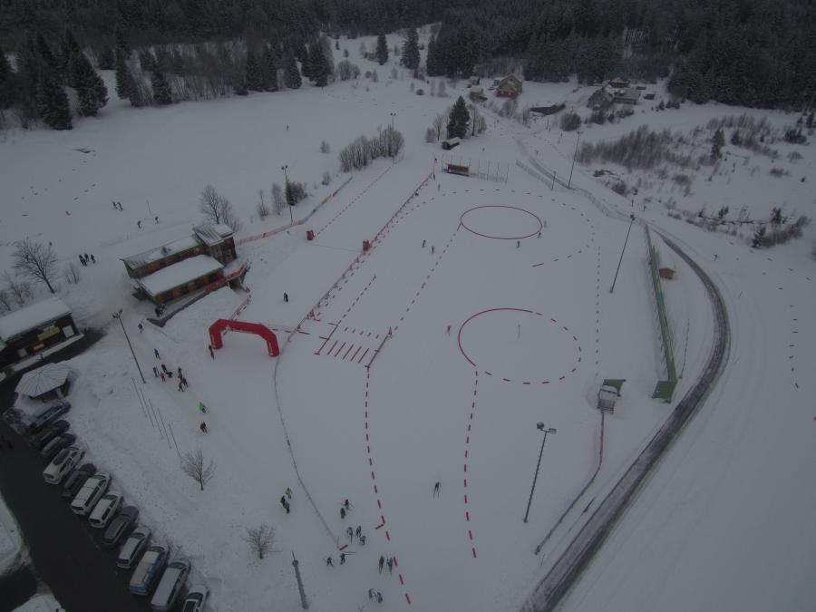Luftaufnahme Jugendcup Deutschlandpokal 2018