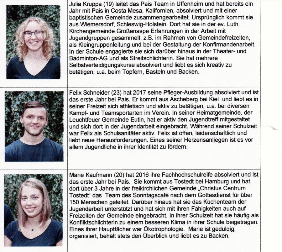 PAIS TEAM 2018-19