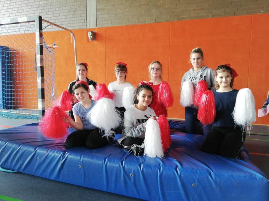 Gruppenfoto bei der Kinder- und Jugendsportgala am 06.04.2019