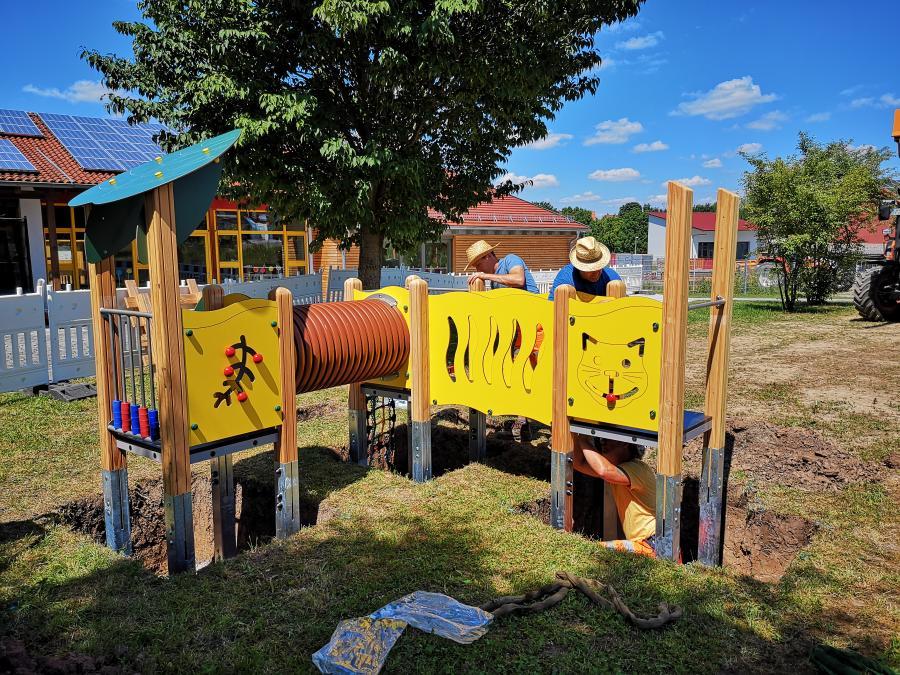 Spielgeräte für den Kleinkindbereich