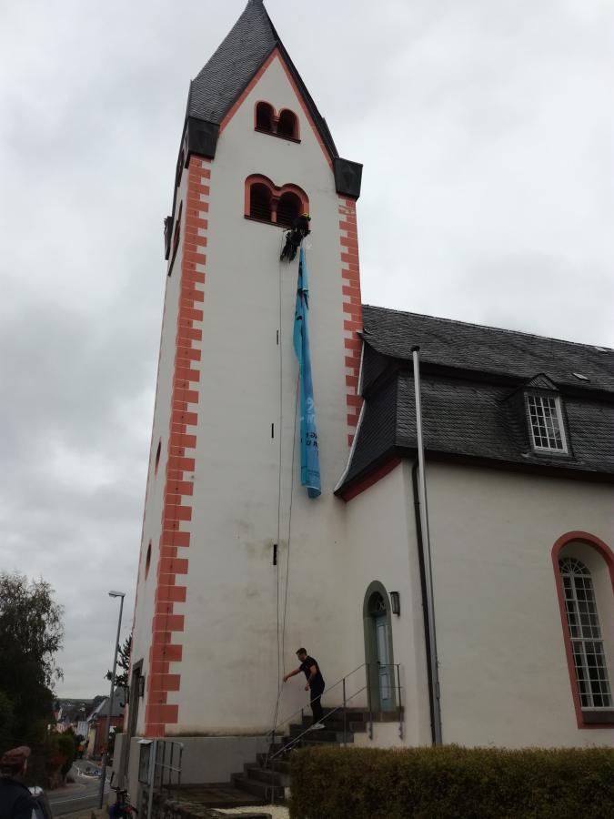 Was wird das am Kirchturm