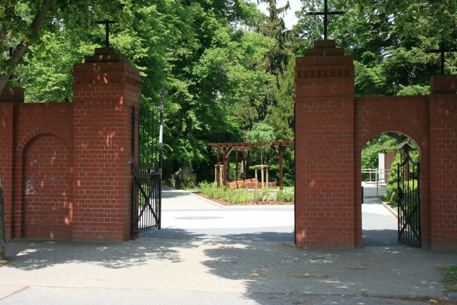 Friedhof Seelow Eingang