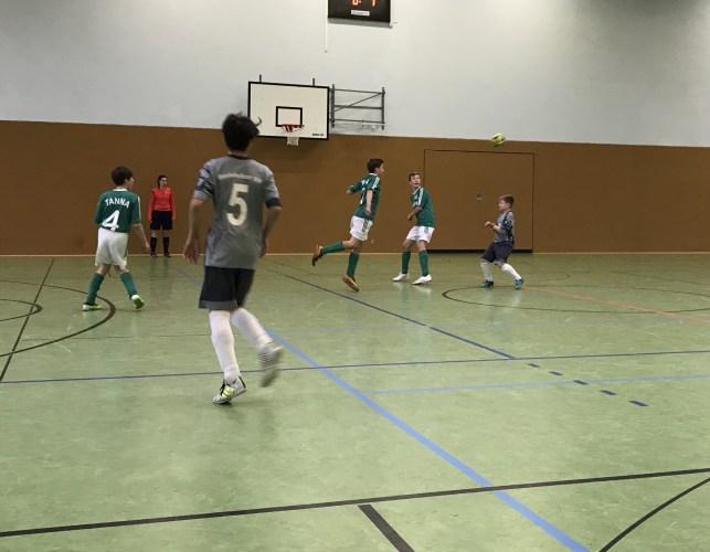 Vorrunde Hallenkreismeisterschaft Futsal 2017