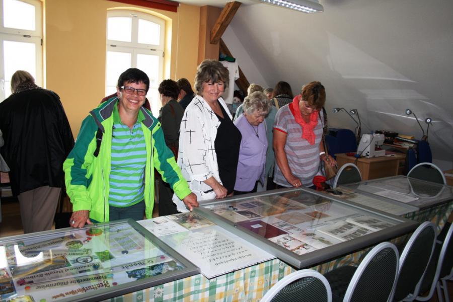 kleine Ausstellung zu den Aktivitäten