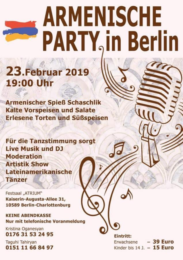 Armenische Party in Berlin