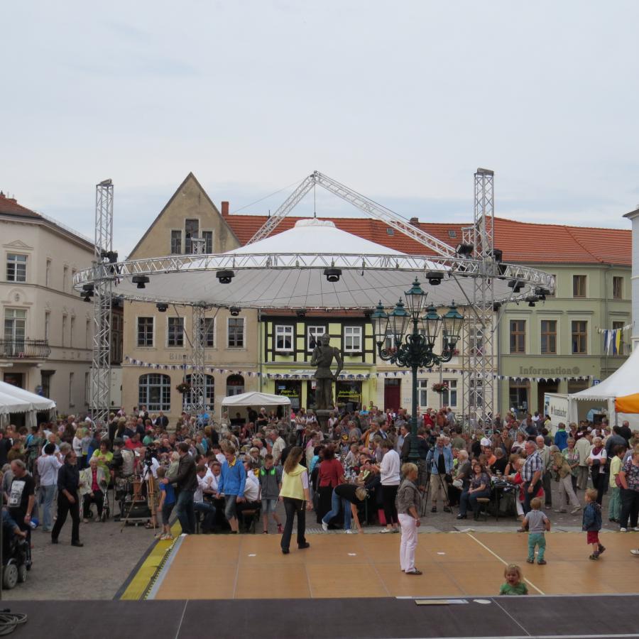 Freitagabend auf dem Großen Markt