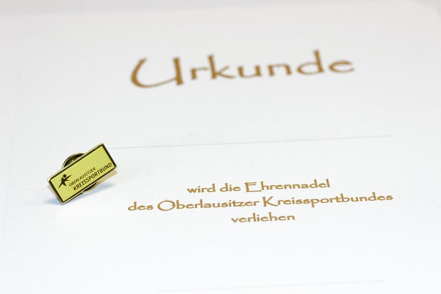 Ehrennadel des Oberlausitzer Kreissportbundes