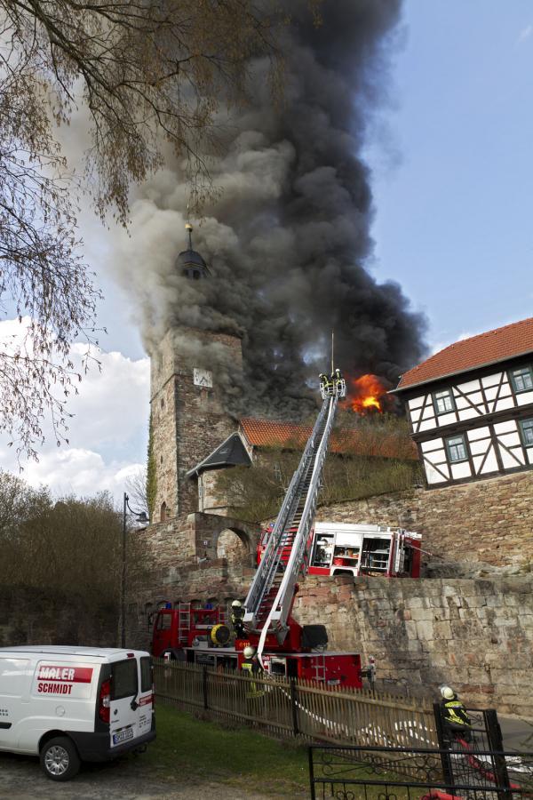 Der Brand am 03. 04. 2012