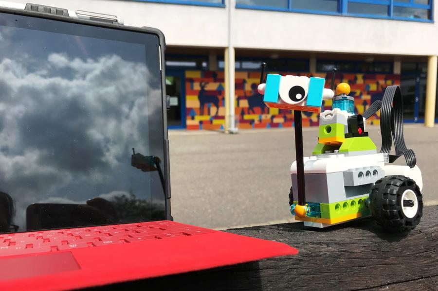 Lego WeDo und Tablet-PC