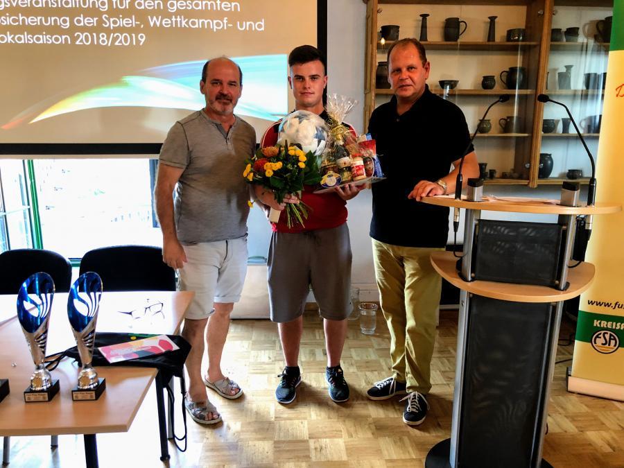 Fair-Play Auszeichnung Christop Becherer