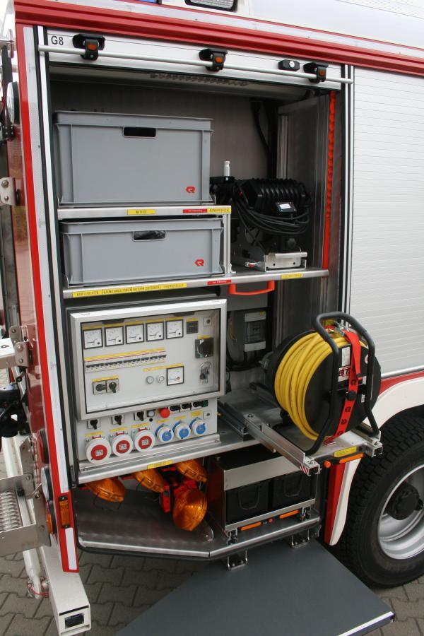 Rüstwagen Geräteraum 8