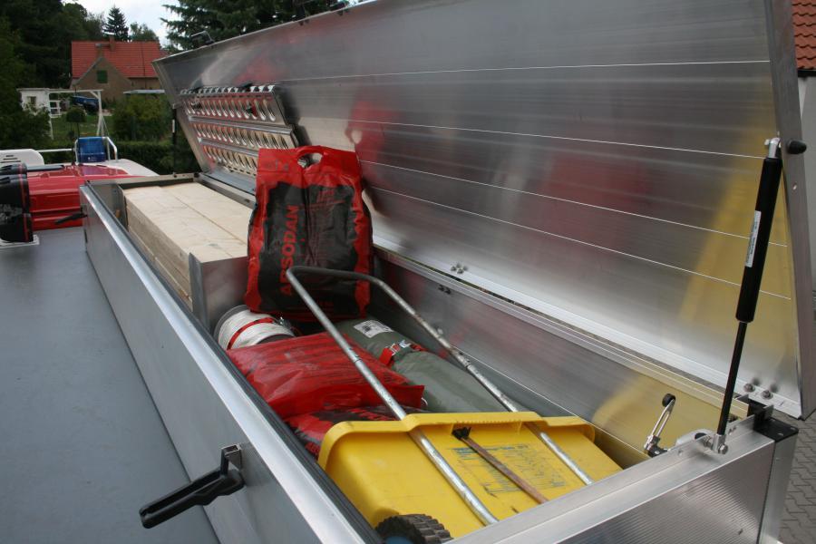 Rüstwagen Dachkasten