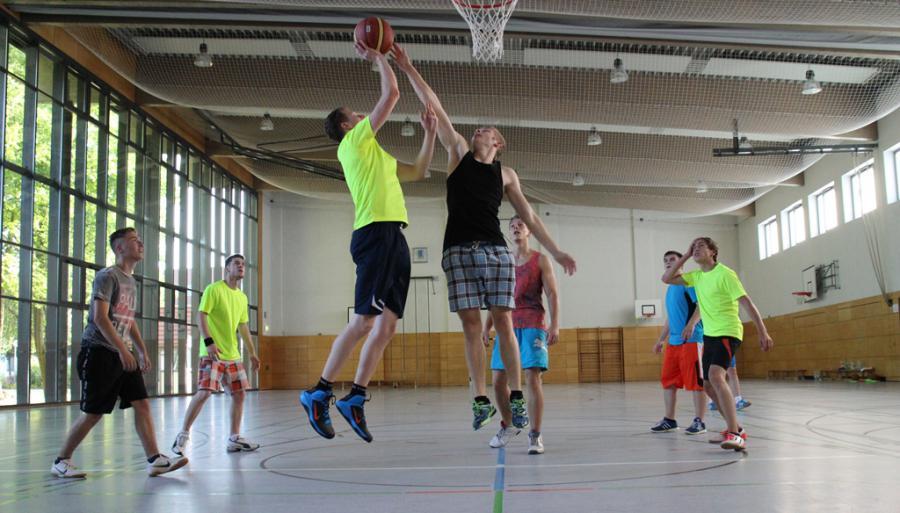 Baskets beim Training