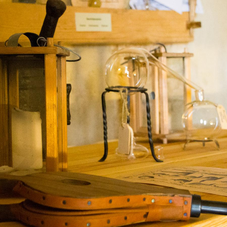 Im Alchemistenlabor Foto- Museum OSL