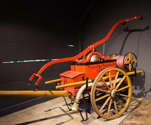 Historische Feuerwehrtechnik_Freilandmuseum Lehde Foto Museum OSL