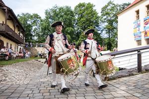Wachaufzug Festungsspektakel 2016 Foto Museum OSL