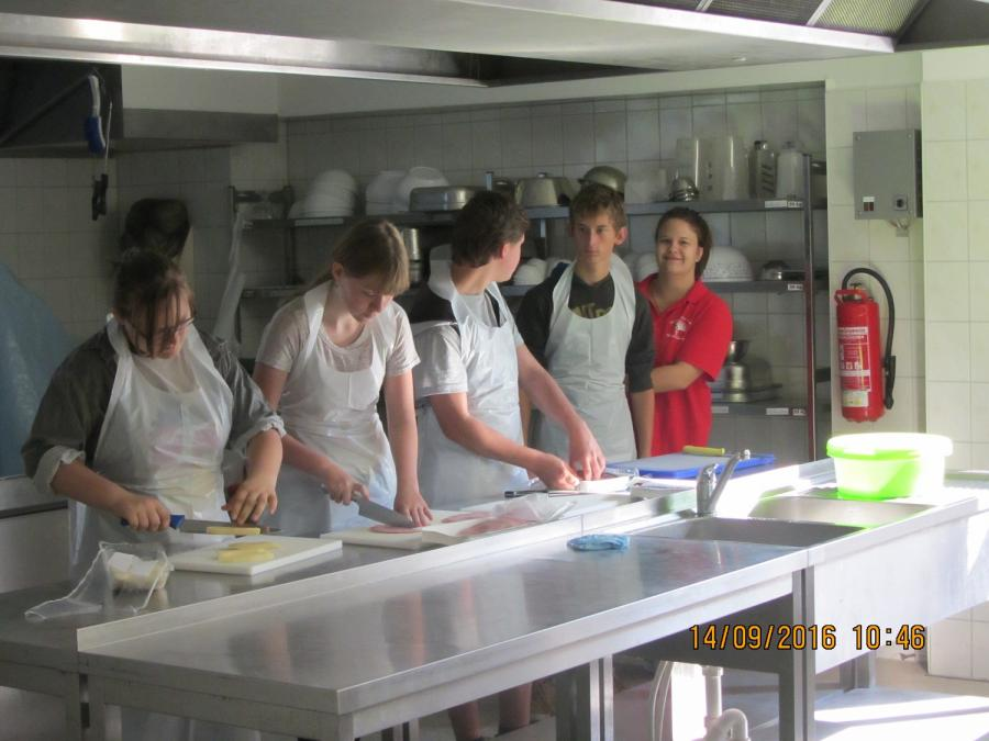 In der Produktionsschule Greven