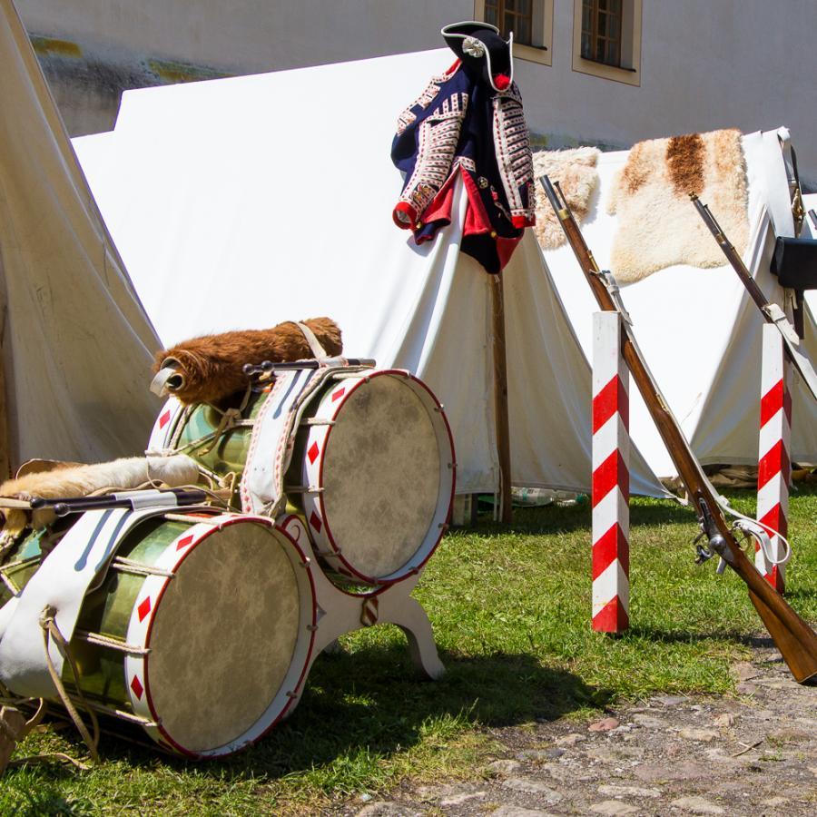 Festungsspektakel_Feldlager_ Foto Museum OSL