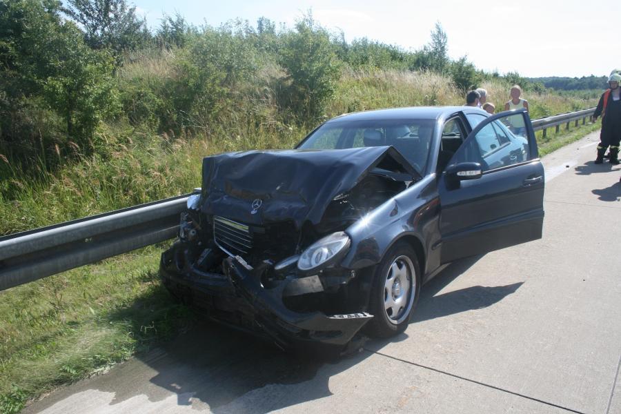 Verkehrsunfall auf der BAB11 mit 7 Verletzten Personen