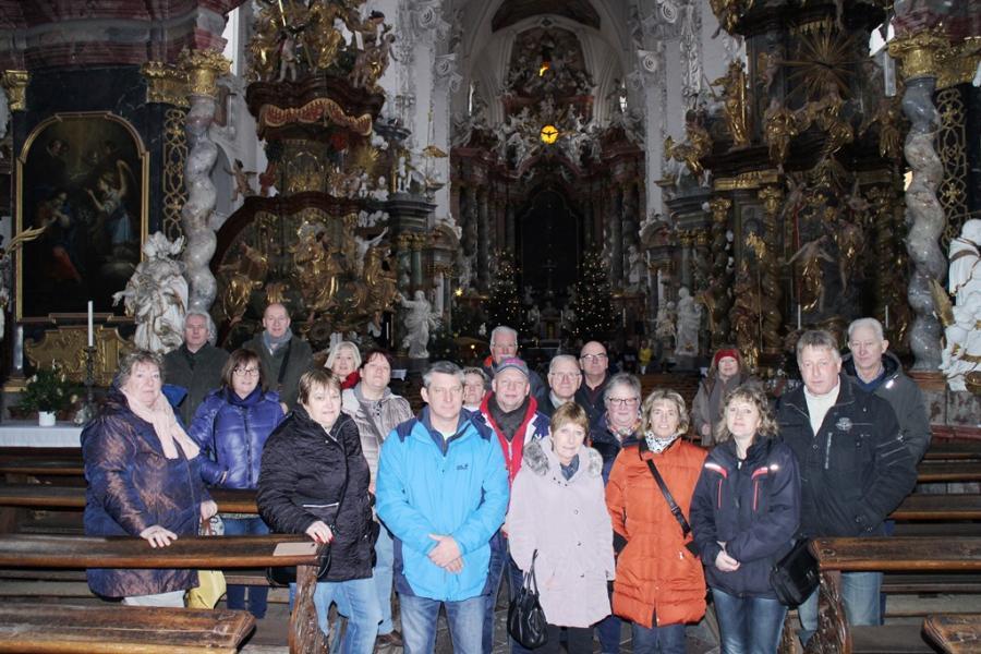 05.01.2019 In der Stiftskirche St. Marien Neuzelle