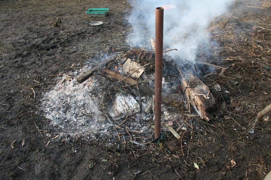 Einsatz Flächenbrand in Gramzow