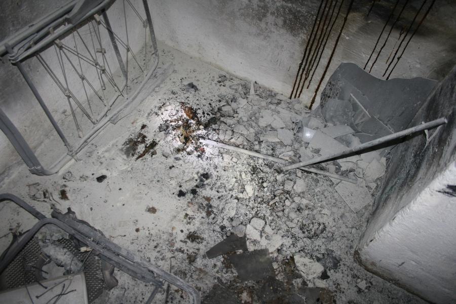 Gebäudebrand in Schmölln