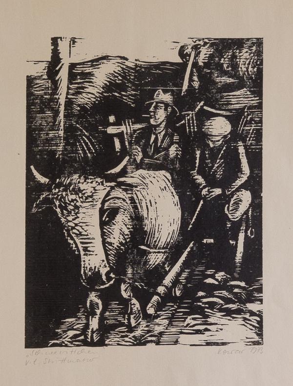 IMG_6279 Thea Kowař, Illustration zu Erwin Strittmatter, 1973 Foto- Museum OSL