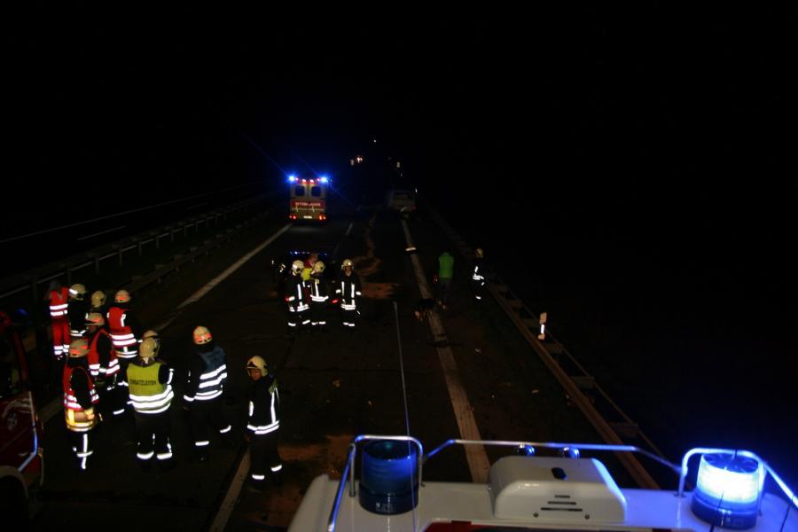 Verkehrsunfall auf der BAB11 Richtung Stettin