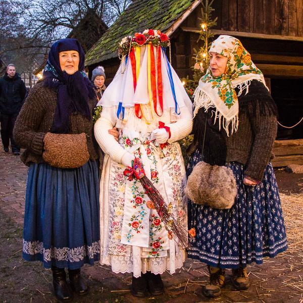IMG_6562Spreewaldweihnacht 2016 - Bescherkind und Begleiterinnen Foto- Museum OSL