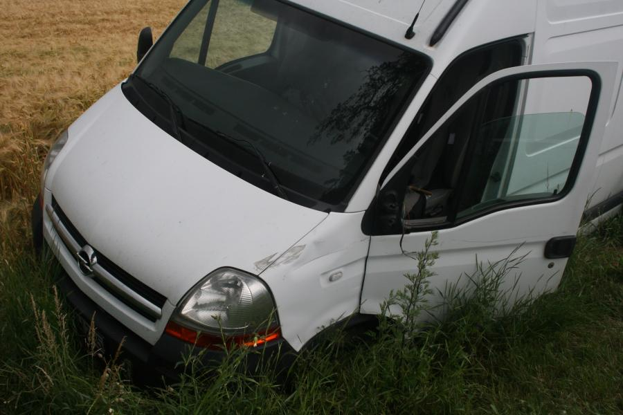 Verkehrsunfall auf der B198, Gramzow Richtung Hohengüstow