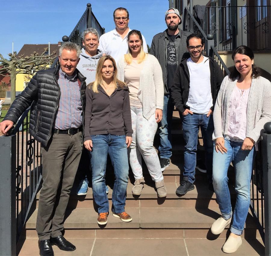 Gruppenbild Vorstand 2017