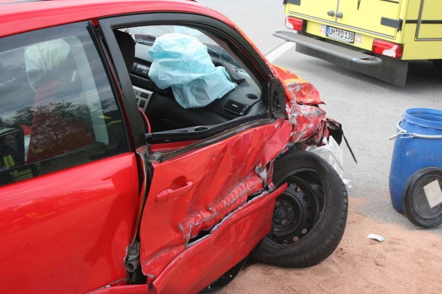 Verkehrsunfall auf der BAB11 Penkun Richtung Schmölln