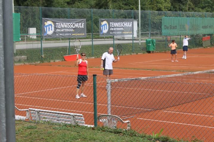 Tennis-Abschlussturnier, 15.09.2018