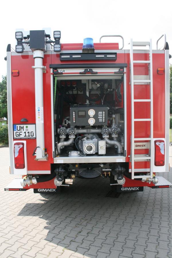 Tanklöschfahrzeug 4000 ST - Geräteraum R