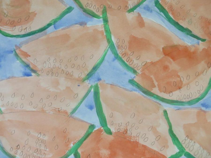 grundschule gemünden  wassermelonen