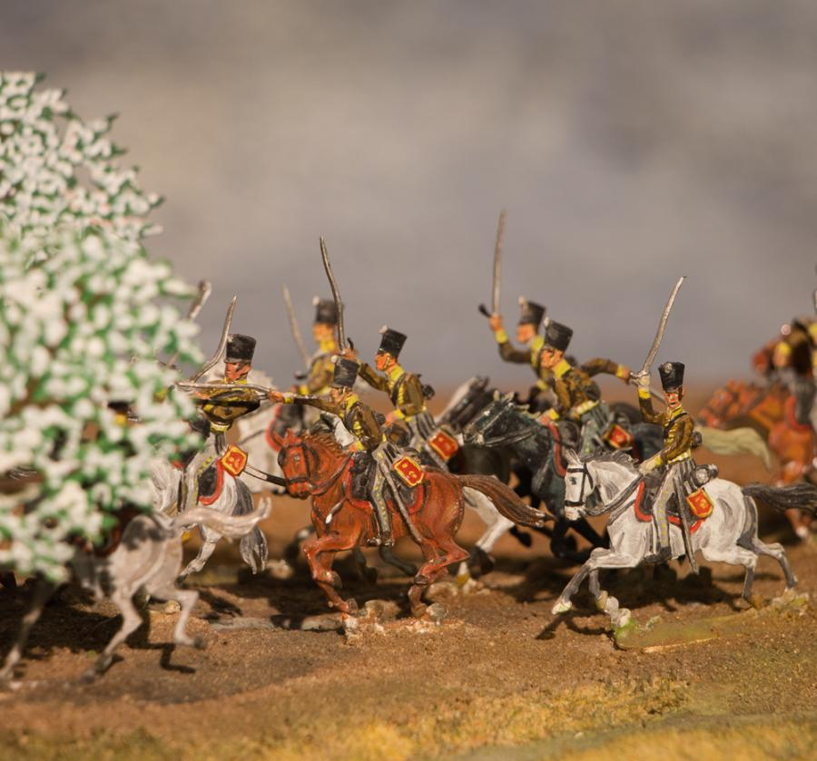 Diorama Zinnfiguren_Foto: Museum OSL