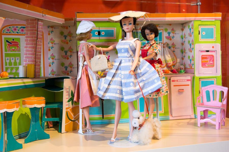 Barbie-Puppe aus dem 1960er Jahren_Foto:Museum OSL