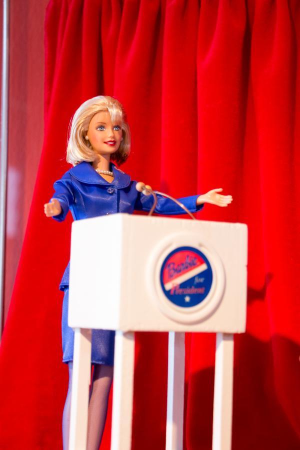 Barbie-Puppe als Präsidentschaftskandidatin Foto: Museum OSL