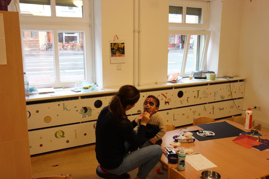 Räumlichkeiten der Kita EVÎN für Kinder unter 3 Jahre
