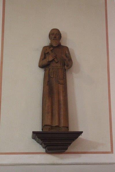 Hl. Bruder Konrad von Parzham in der Pfarrkirche Gondenbrett