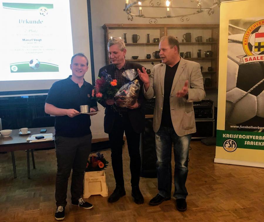 DFB-Ehrenamtspreisträger 2018 Marcel Voigt (2. Platz)