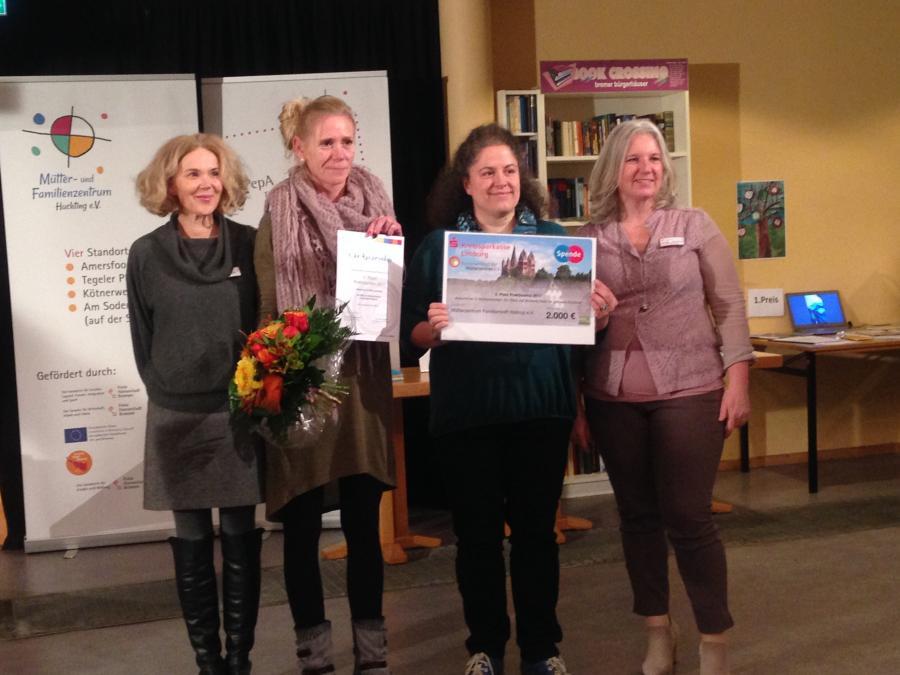 3. Preis: Mütterzentrum Familientreff Waltrop