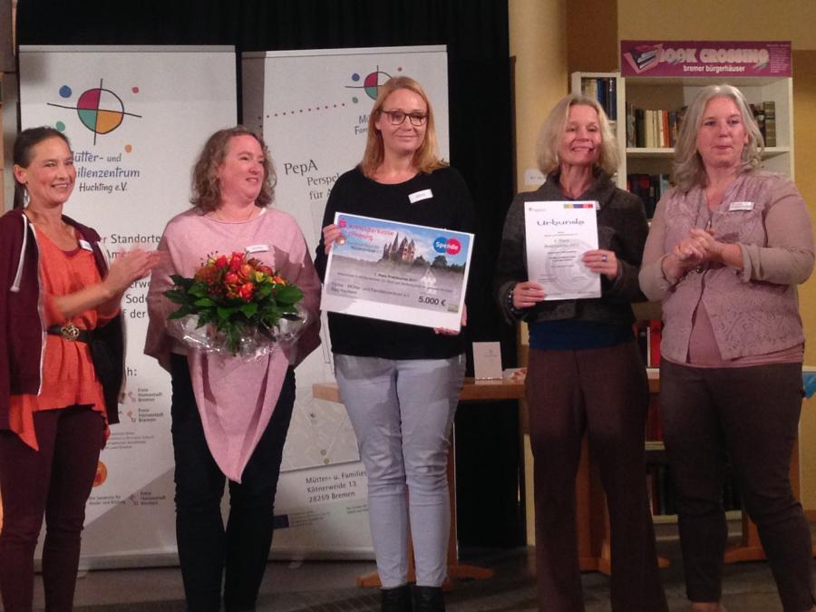 1. Preis: Mütter- und Familienzentrum (Müfaz) e.V.