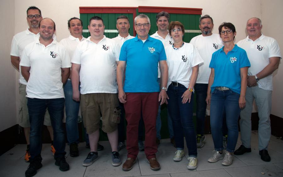 Vorstand und Eventteam