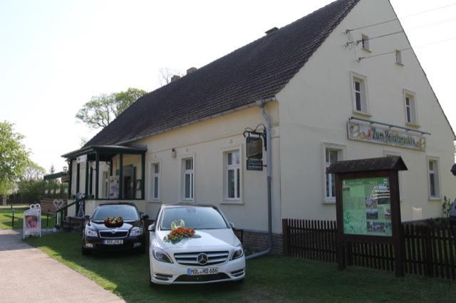 Eingang zum Gasthof