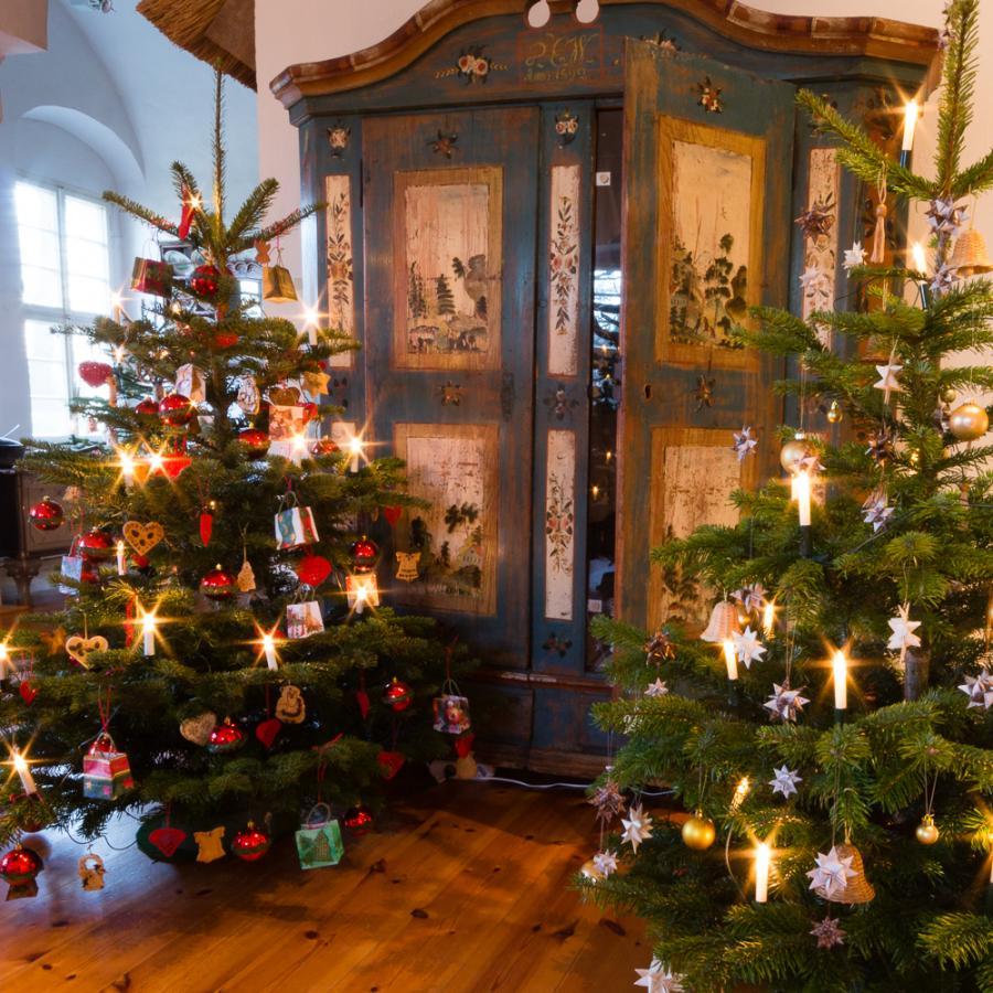 Weihnachten im Schloss Foto- Museum OSL_