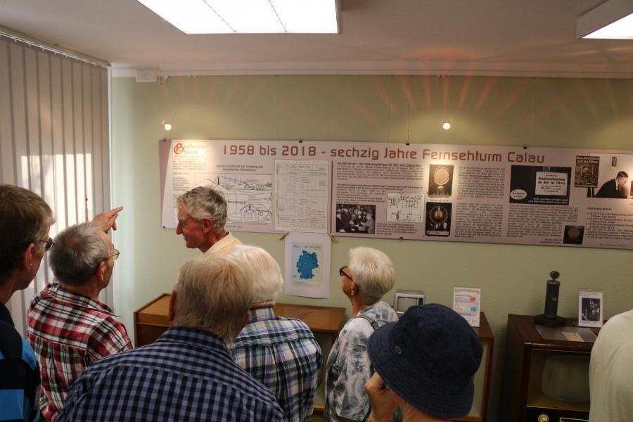 60 Jahre Fernsehturm Calau - Sonderausstellung