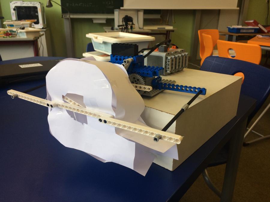 LEGO Gebläse MINT--Campus Schülerforschungszentrum