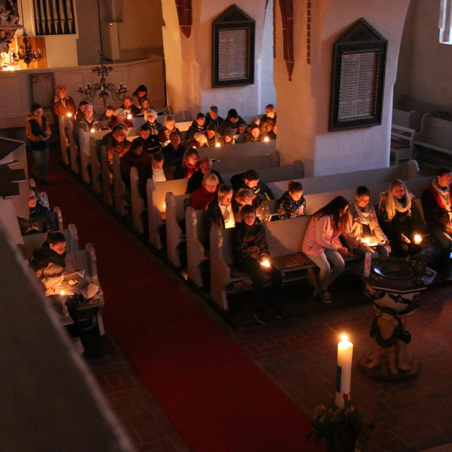 Osternacht in Kremmen