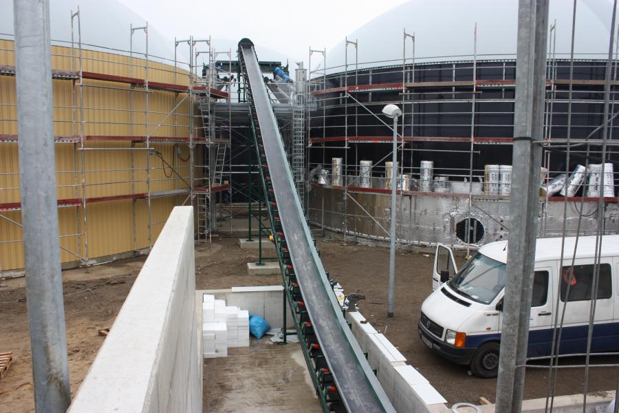Biogasanlage am Hybridwerk Wittenhof